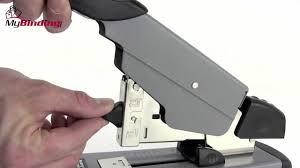 Swingline Deluxe Heavy Duty Stapler Demo - SWI-39005, SWI-39002