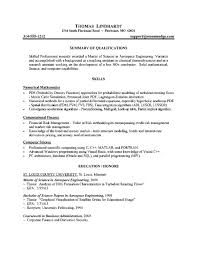 resume examples  graduate school resume examples customer service    graduate school resume examples   summary of qualifications and skills as numercial mathematics and computer science