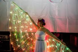 SMART light up wings - well suited to any costume