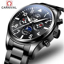 <b>Men</b> Sport Watch <b>Carnival</b> Brand Fashion <b>Men</b> Mechanical Watch ...