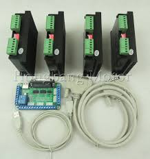 Free shipping <b>CNC Router</b> 4 Axis <b>Kit</b>,<b>TB6600 3</b> Axis 4.5A Driver ...