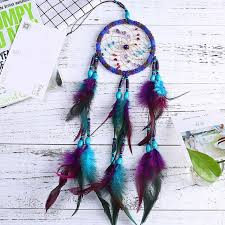 <b>Flying Dream</b> Catcher <b>Wind Chimes</b> Handmade Gifts Feather ...