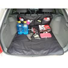 <b>Защитная накидка</b> в <b>багажник</b> с карманами в автомобиль - Keeman
