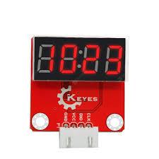 Keyes Brick TM1637 I2C 4CH Digital Tube Sensor Module with Anti ...