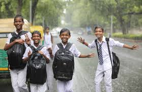 Image result for school leave due to rain