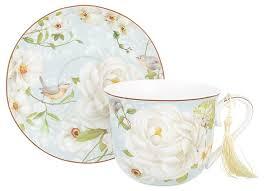 <b>Elan gallery Чайная пара</b> Дикая роза — купить по выгодной цене ...