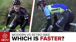 How Much Faster Are <b>Modern Bikes</b>?   <b>Retro</b> Vs <b>Modern</b> - YouTube