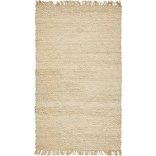 Mistana Deziree Geometric <b>Handmade</b> Braided <b>Jute</b>/Sisal Natural ...