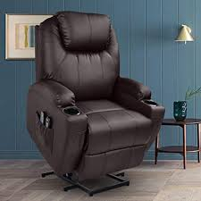 MAGIC UNION Power Lift Massage Recliner Faux ... - Amazon.com