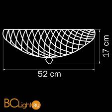 Купить потолочный <b>светильник Lightstar Murano 602073</b> с ...