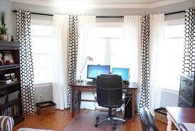 home office curtains. home office curtains in the living