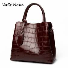Casual Tote Cow Leather <b>Vento Marea</b> Plaid Style <b>Women</b> ...