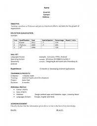 resume templates work sample job template 81 astounding easy resume template templates