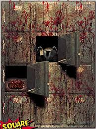 Bloody <b>Horror GIANT</b> MORGUE WALL GORE DECOR <b>Halloween</b> ...