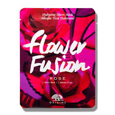 <b>Origins Flower Fusion</b>™ Hydrating Sheet Mask <b>Rose</b> 38g - Feelunique