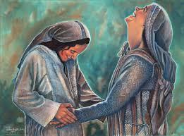 Image result for visita de maria a su prima isabel