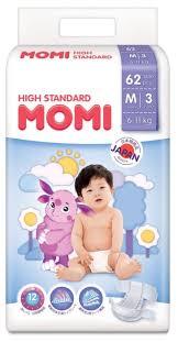 <b>Momi подгузники High Standard</b> M (6-11 кг) 62 шт. — купить по ...