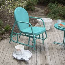 piece retro turquoise blue patio retail price  vrsgcs  retail price