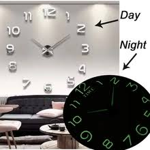 new 3d wall clock marble 28cm acrylic for home decoration quartz abstract living room dropshipping