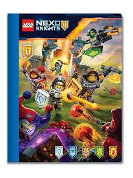 <b>Тетрадь</b> (100 листов, линейка) <b>LEGO</b> Nexo Knights (Рыцари ...