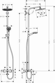 <b>Душевая стойка Hansgrohe Crometta</b> S 240 Showerpipe 27320000 ...