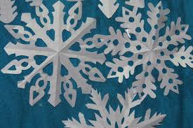 Image result for cut out snowflakes