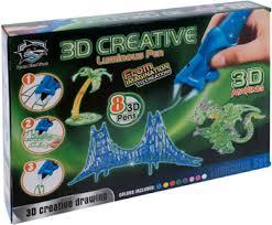 <b>Набор 3D-ручек 3D Making</b> (8 шт.), светящиеся чернила 1CSC ...