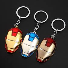 <b>2018 New 1pcs</b> Metal Superhero Keychain Men Trinket Key Chain V ...