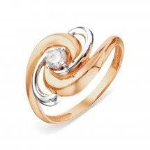 <b>Кольца</b> из золота с <b>фианитом</b> - купить в ювелирном интернет ...