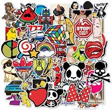 FineFun Random <b>JDM Stickers Pack 100PCS</b> for <b>car</b> Bumper ...