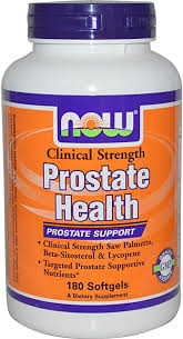 Now Foods <b>Clinical Strength Prostate Health</b>, Soft-gel, 180-Count ...