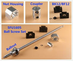 <b>SFU1204 200MM</b> BALLSCREW with Ballnut For CNC Router ...