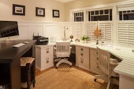 contemporary corner desk home office traditional with 3 seater office space built corner desk home