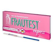 <b>Тест на беременность Frautest</b> Express, тест 1 шт. - купить, цена ...
