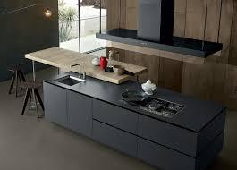 kitchen island integrated handles arthena varenna: dark contemporary kitchen artex by poliform varenna
