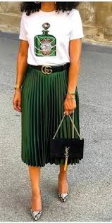 274 Best <b>pleated</b> skirt outfit. <b>summer</b> &spring images in 2019 ...