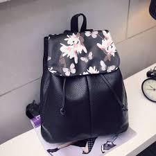 <b>Girl Leather</b> School <b>Bag</b> Travel <b>Backpack</b> Satchel <b>Women</b> Shoulder ...