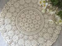 crochet doilies: лучшие изображения (22) | Lace doilies, Lace ...