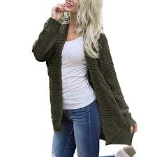 Faionny Womens Knit Sweater Solid Cardigan ... - Amazon.com