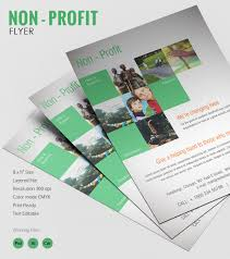 flyer templates psd eps format admirable non profit flyer template