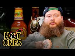 <b>Action Bronson</b> Blows His High Eating Spicy Wings | Hot Ones ...