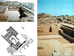 what was the theogony or creation myth of the indus valley he then shows a diagram of the great bath a different one from the internet is here