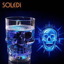 <b>1pc</b> Creative LED Skull Cup <b>Bar</b> Pub <b>Beer</b> Drink Beverage Barware ...