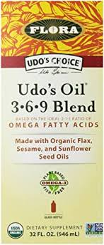 Flora <b>Udo's</b> Choice <b>Oil</b>, <b>3-6-9</b> Blend, 32 Ounce: Amazon.ca: Grocery