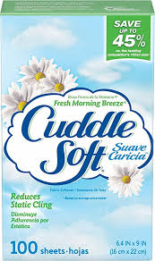<b>Jil Sander Sun</b> Cuddle Soft Fabric Softener Dryer Sheets, Fresh ...