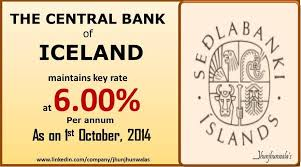 Image result for central bank of iceland
