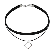 Women <b>Fashion</b> Double <b>Layer Choker</b> Concise Charm <b>Short</b> ...
