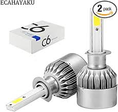 ECAHAYAKU c6 car led headlight bulb h1, 36w ... - Amazon.com