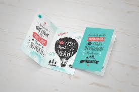 12 psd greeting card mockups creatives invitation or greeting card mockup psd