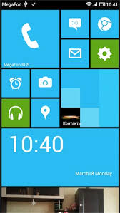 Launcher 8 — рабочий стол WP8 на Android / Geektimes
